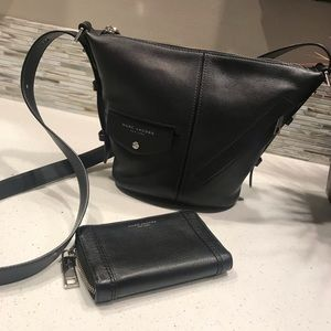Marc Jacobs crossbody bag and wallet